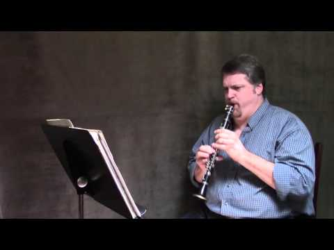 Stravinsky Rite of Spring E-flat Clarinet Solos