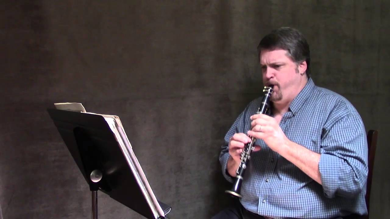 E Flat Clarinet Player Stravinsky Rite of Spr...