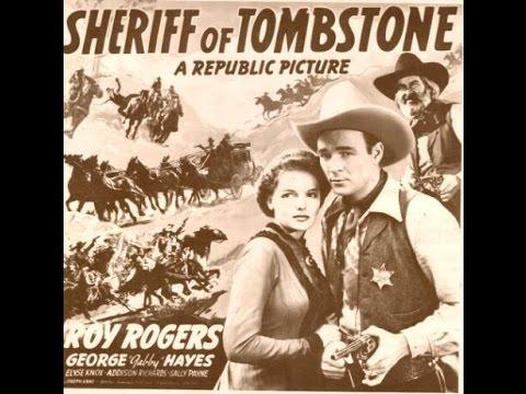 Western Sheriff of Tombstone 1941 Roy Rogers, George 'Gabby' Hayes, Elyse Knox