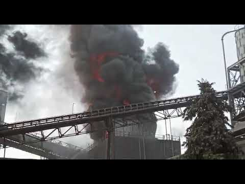 Birla Cement factory fire accident