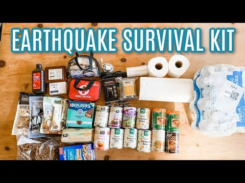 Earthquake Preparedness Kit | Emergency Survival Kit