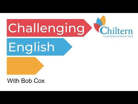 #LDeduchat Challenging English - Bob Cox