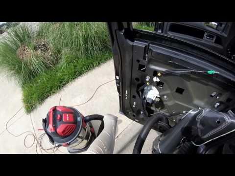 F 150 2013/rear Driver Side Window Install