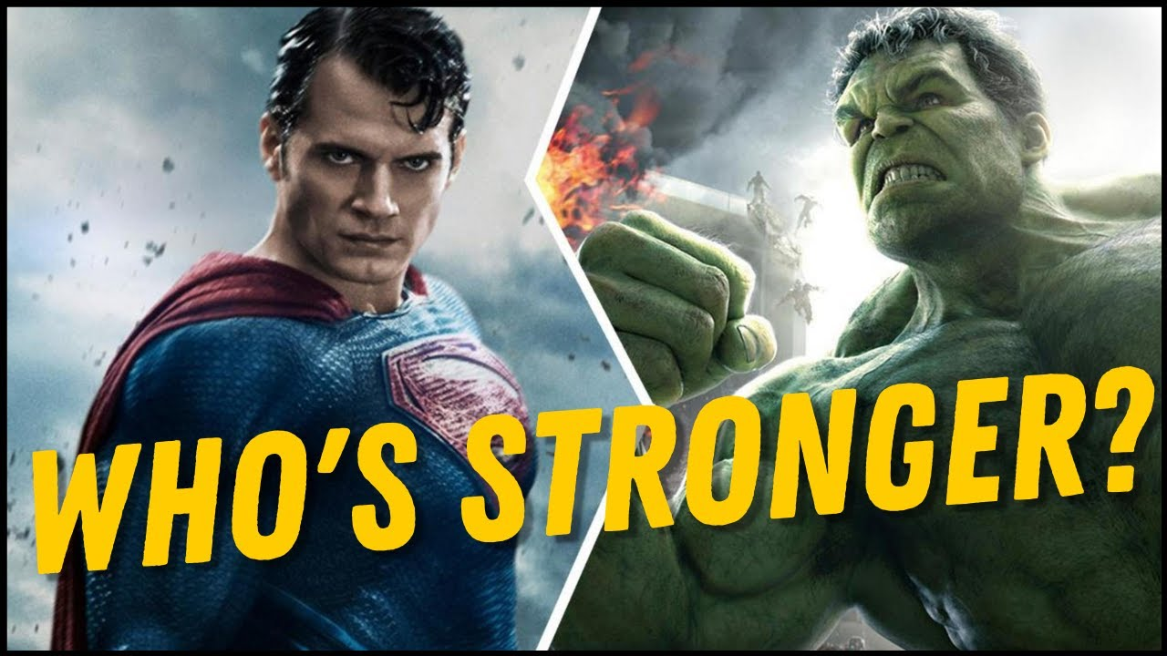 Download Who's Stronger - Superman or Hulk?