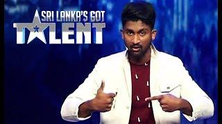 කේසරට හැමෝගෙම හිත කියවන්න පුලුවන්ද ? | Sri Lanka's Got Talent Audition 01 Thumbnail