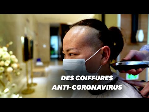 Contre le coronavirus, ce coiffeur de Wuhan coupe gratuitement les cheveux des infirmières