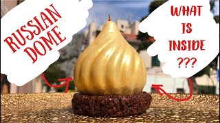 """Russian Dome Dessert Review ★ Обзор десерта """"Русский купол"""" (ENG SUBs)"""