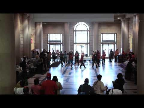 Free Library of Philadelphia Dance Mob