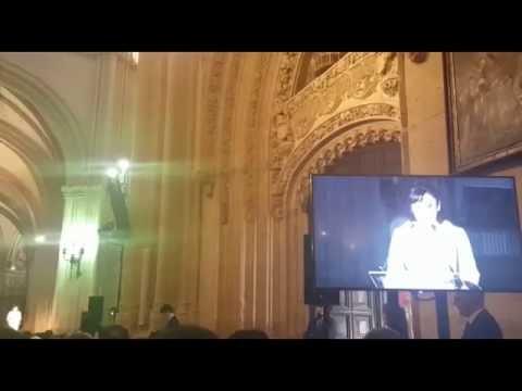 María José Montiel recibe el Premio Nacional de Música 2015