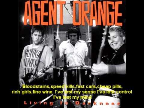 Agent Orange, bloodstains(lyrics)