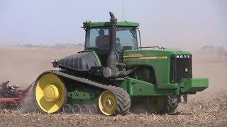 John Deere 8300 and 9320T Tractors, Warner Farming on 5-1-2013