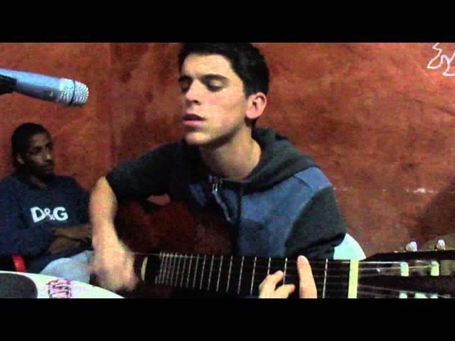 Luca Salvi -- Pinchando en Café del Oeste