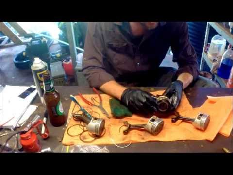 Changing the Piston Rings on a Yamaha 50HP Four Stroke outboard