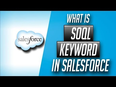 What is SOQL Query Keyword in salesforce in salesforce