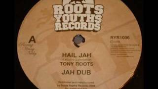 Tony Roots Hail Jah - 2009 Roots Youths Records 12 Inch Single - DJ APR