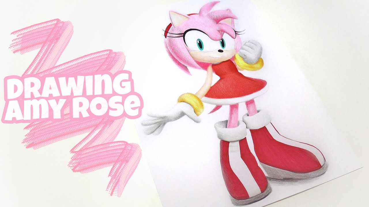 Amy Rose - Sonic Movie in 2021 | Sonic the movie, Hedgehog