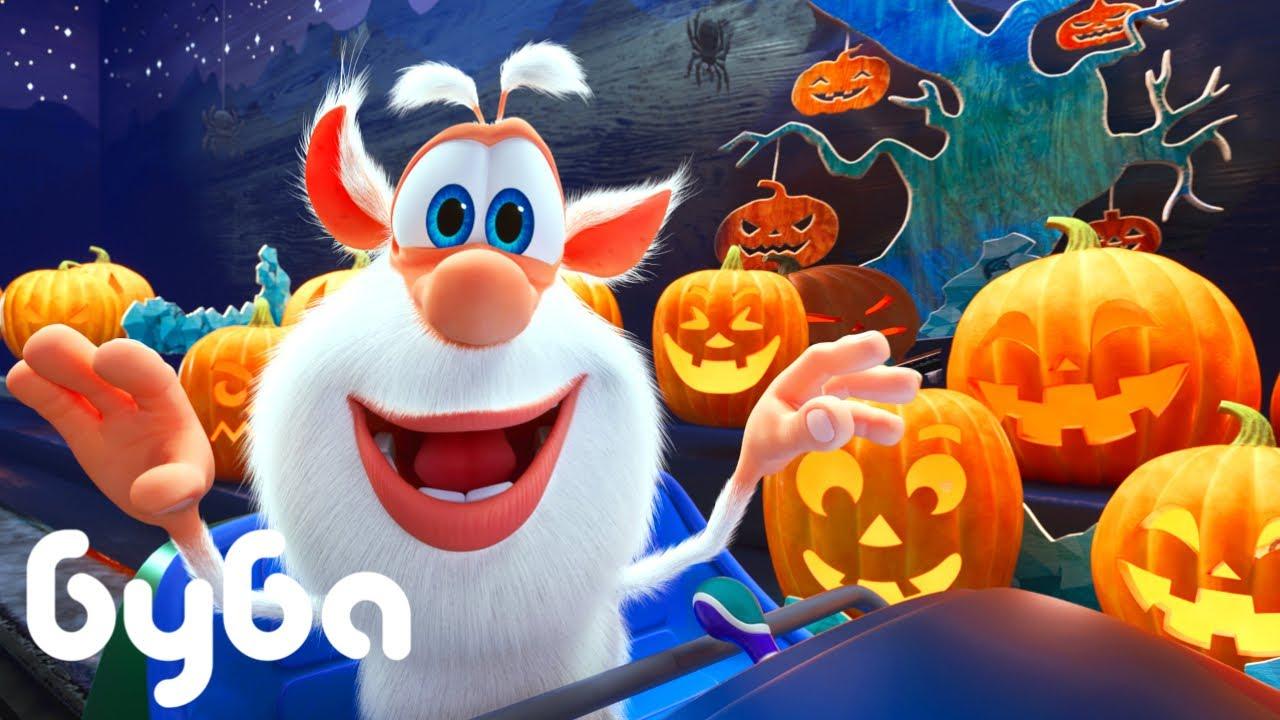 Буба   🎃🎃🎃  Страшная поездка   НОВИНКА   Смешной Мультфильм 2021  👍  Kedoo мультики для детей
