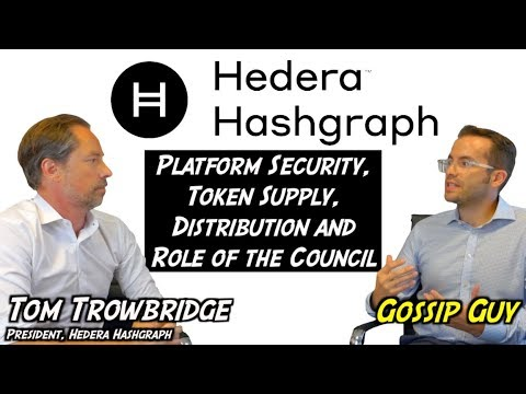 Hedera Hashgraph – Platform Security, Token Supply, Distribution and Role of the Council
