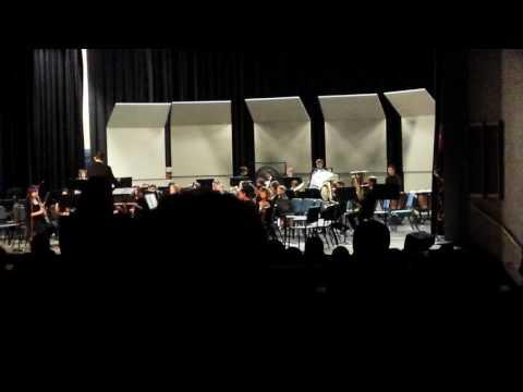 Gridley Middle School Concert Band - Dec. 8, 2016