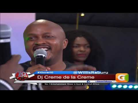 Dj Creme de la Creme_Guys out there really respect the Kenyan community in terms of entertainment