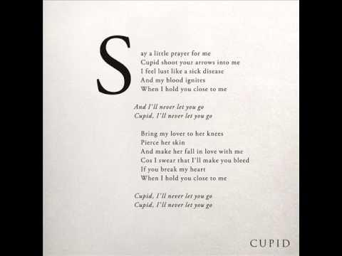 Hurts- Cupid (Audio and Lyrics)