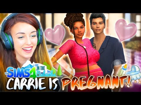 VALENTINE'S DAY PREGNANCY! ❤️ (The Sims 4 IN THE SUBURBS #57! 🏘) thumbnail