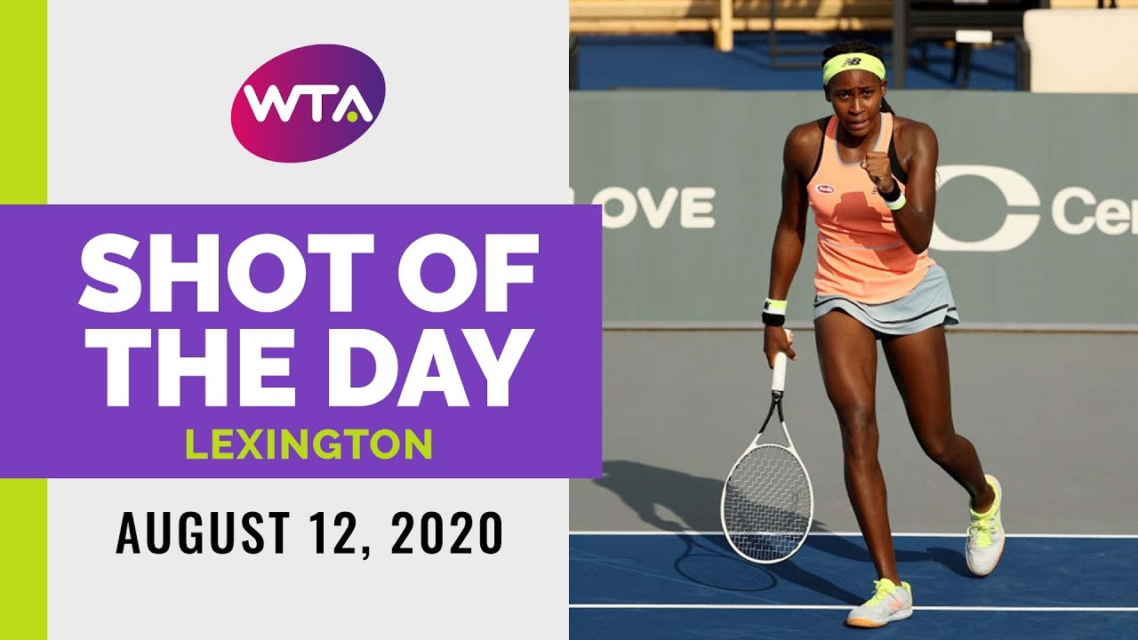 Coco Gauff | 2020 Lexington Day 3 | Shot of the Day