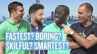 Manchester City: Fastest? Most skilful? Smartest? | Locker Room | Filmed on Location in Abu Dhabi