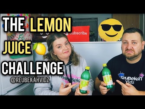 The Lemon Juice Challenge *Diarrhoea Alert*