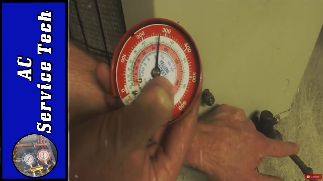 HVAC Basics: How to Check R22, R410a Subcooling when you don't know the  Rating or Refrigerant!