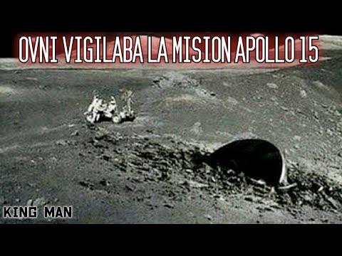 Ovni vigilaba el Apolo 15 mientras transcurria la mision en la Luna