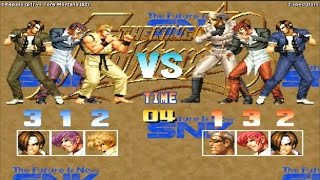 [HD] - Fightcade - KOF 95 Online match - Timepass (Pakistan) vs. Tony Montana (Canada)