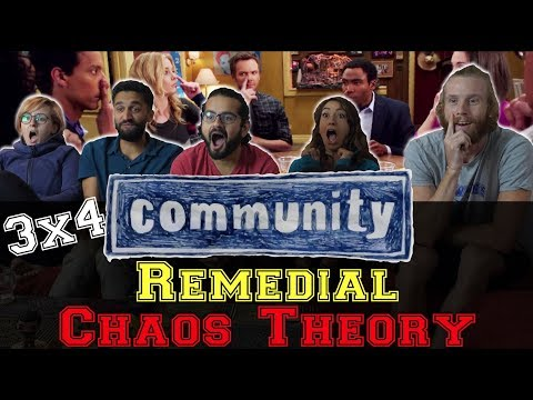 Community - 3x4 Remedial Chaos Theory - Group Reaction