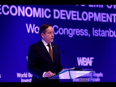 WBAF 2018 Address: Balazs Rakossy, State Minister of Hungary