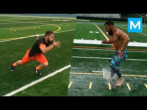Speed Machine - Speed & Agility Drills with Luis Badillo Jr | Muscle Madness