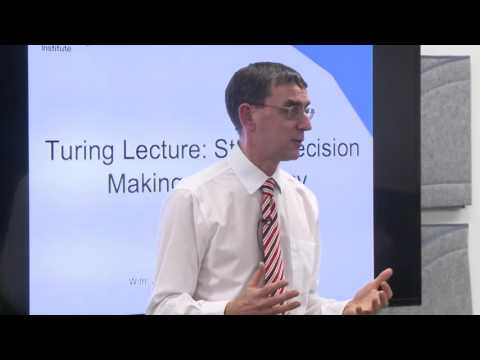 Turing Lecture: John Pullinger, Mobilising the power of data to help Britain make better decisions