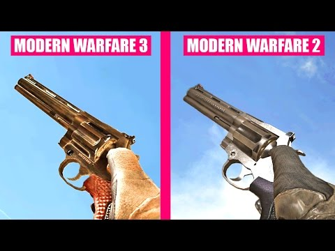 Call of Duty Modern Warfare 3 Gun Sounds vs Modern Warfare 2