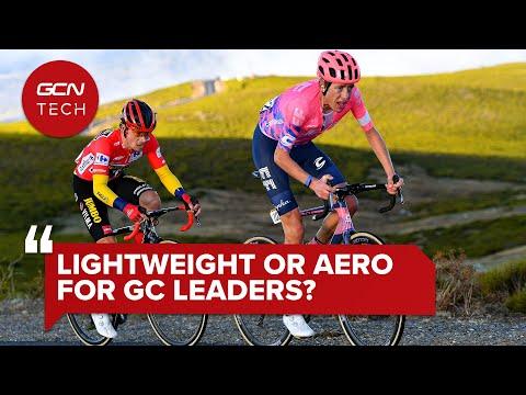 Do GC Leaders Choose Lightweight Or Aero Bikes? | GCN Tech Clinic #AskGCNTech