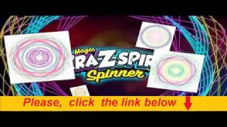 Cra-Z-Art Magic Cra-Z-Spiro Spinner Commercial ad