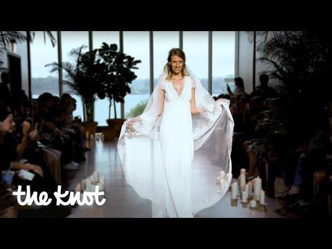 Bridal Fashion Week Fall 2018: Boho Dresses