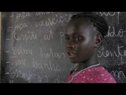 Satu - ein Patenkind von Plan International aus Guinea-Bissau
