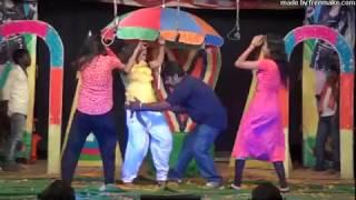 Andhra Telugu Village Natakam Hot Dance