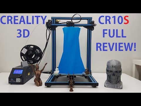 Creality CR10S Full review! Is it better than old CR10?