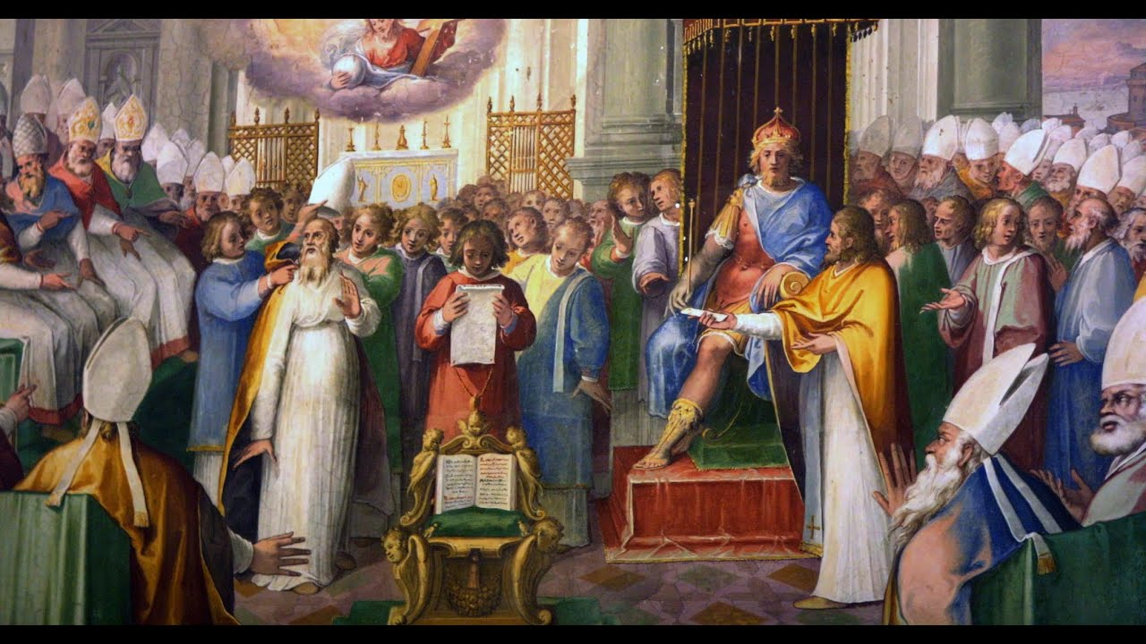Image result for image of the council of chalcedon