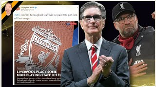 IT KICKS OFF! Liverpool make massive U-TURN & SORRY on Furlough Decision! Liverpool News