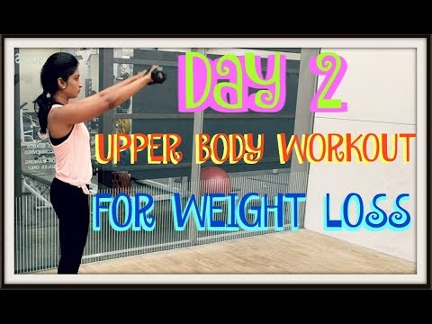 Upper body dumbbell workout for weight loss – Indian women and men – befit with karishma