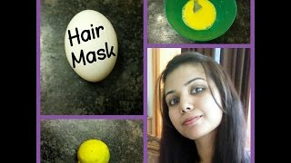 Egg Hair Mask For Long & Shiny Hair and Fast Hair Growth
