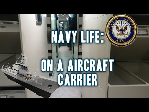 Navy Life: Living  On Aircraft Carrier ! Navy Bootcamp 2020⚓️