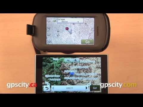 Garmin Topo Map Comparison: Outdoor GPS vs. nuvi