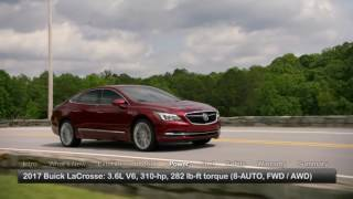 2017 Buick LaCrosse Test Drive